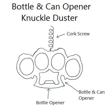 brass knuckles diagram baldor reversible motor wiring weaponcollector s knuckle duster and weapon blog templates part 1 of