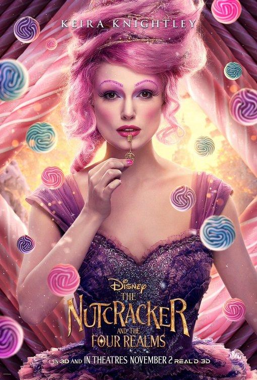 Nutcracker Four Realms Sugar Plum Fairy poster