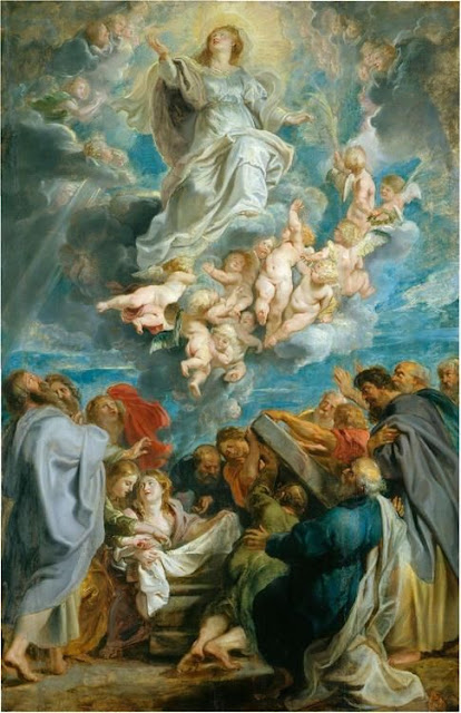 """The Assumption of the Virgin"" Peter Paul Rubens"