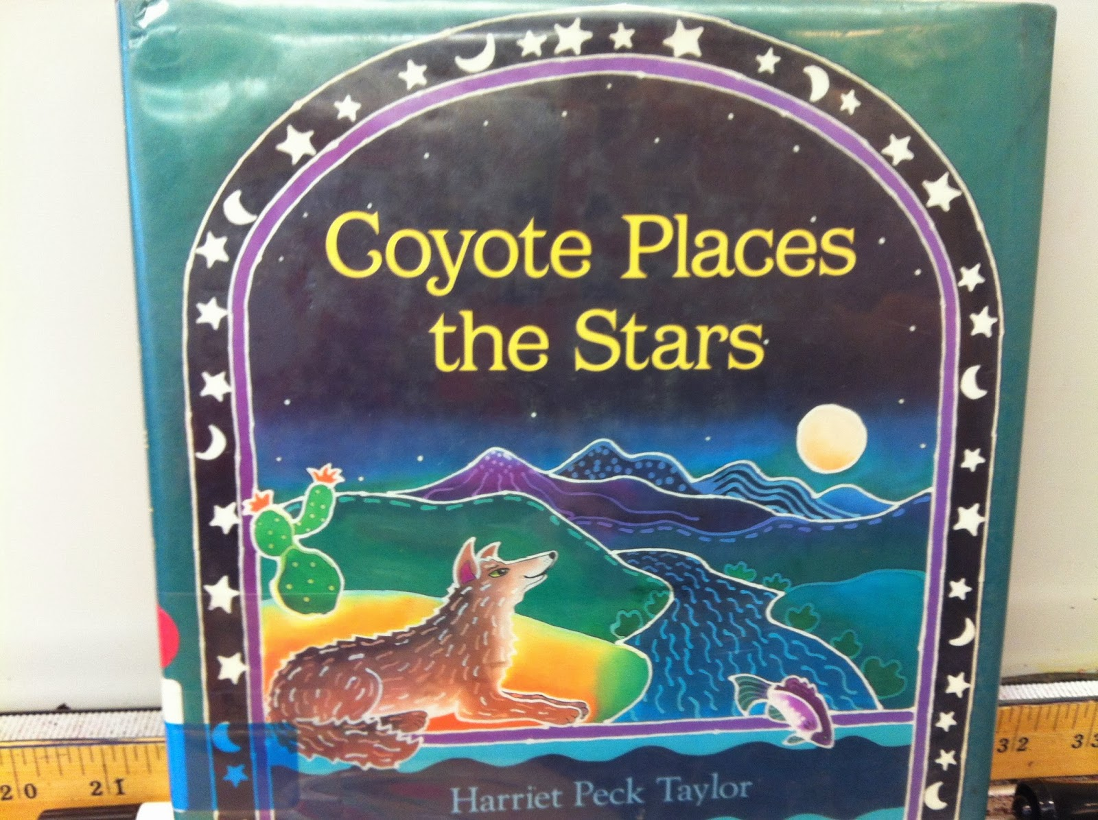 Mrs Hannah S First Grade Class Coyote Places The Stars