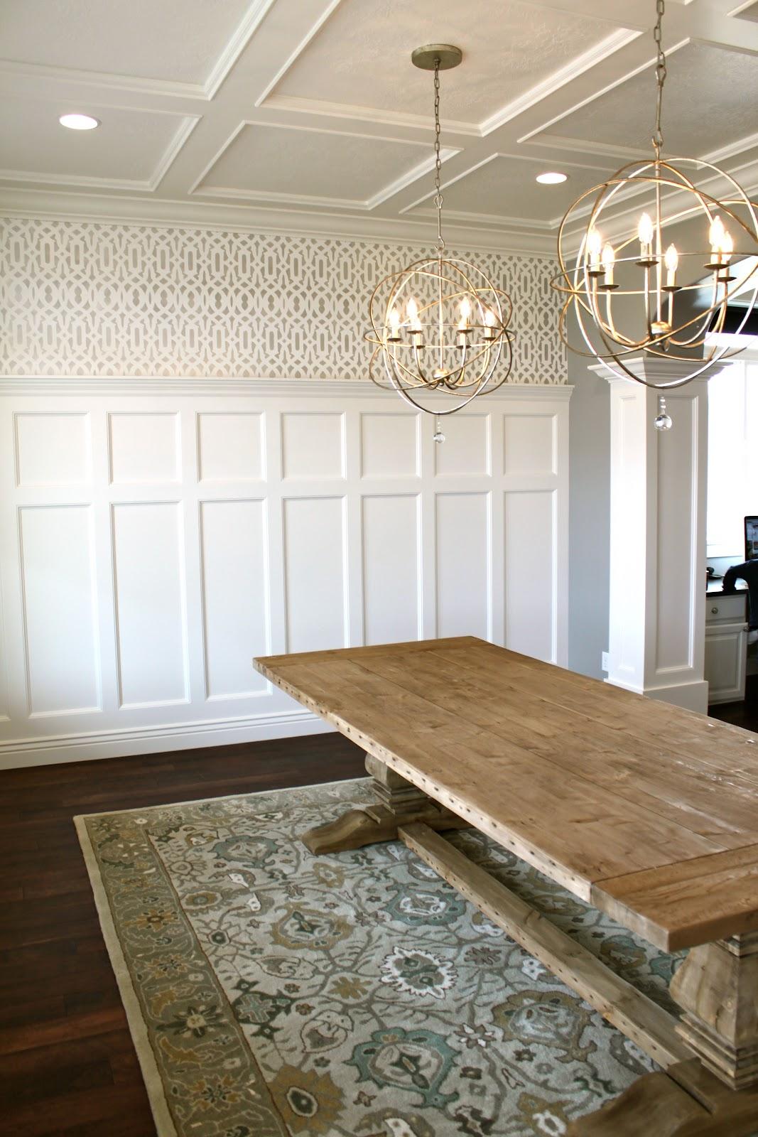 Amy S Casablanca Dining Room Transformation