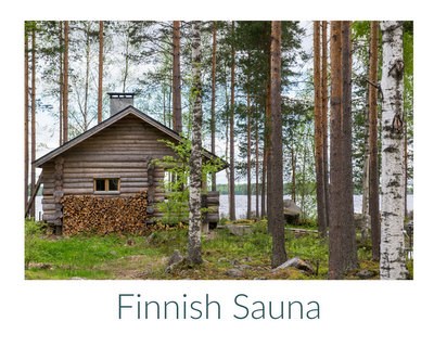 Finnish sauna ♥ KitchenParade.com