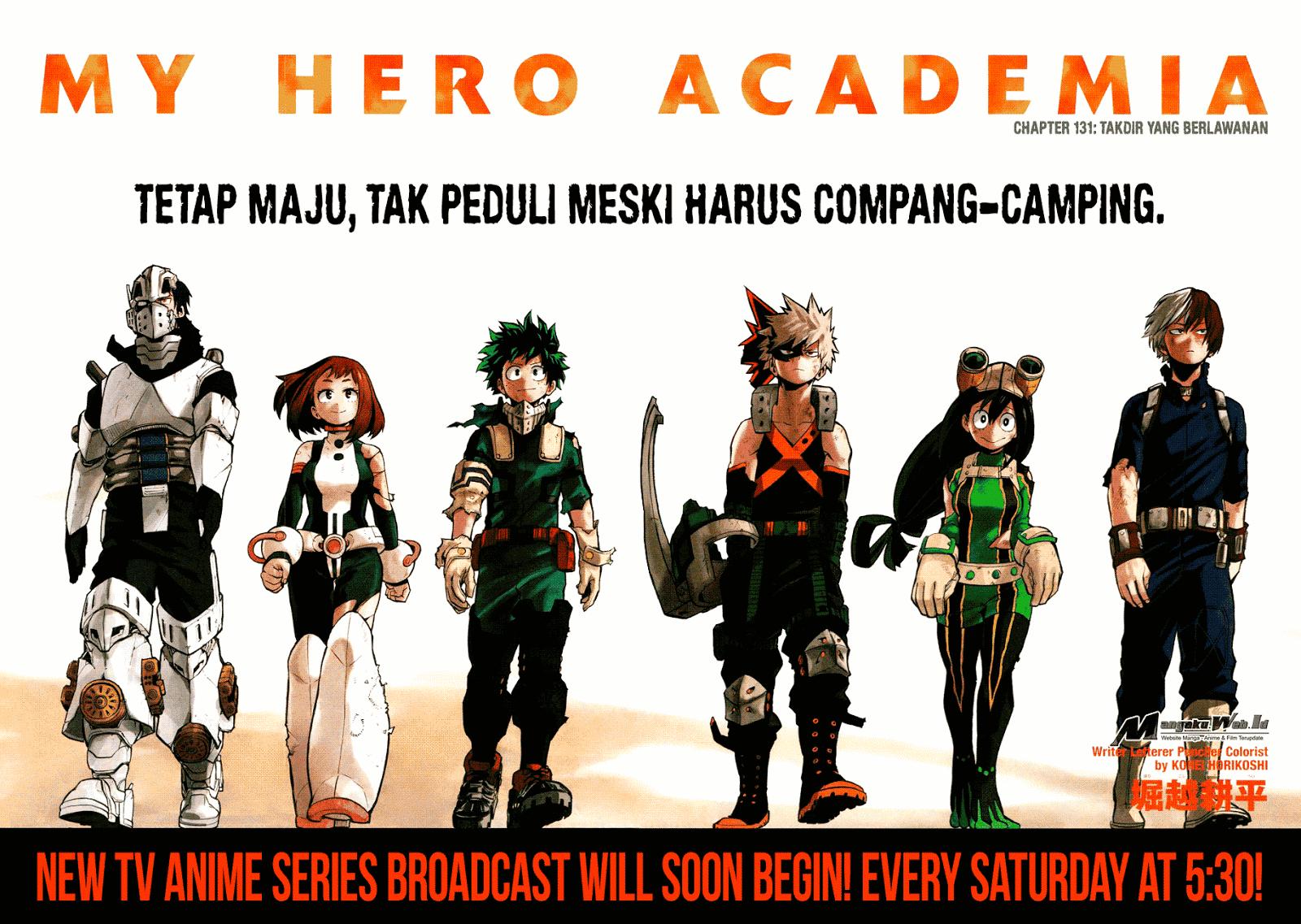 Boku no Hero Academia Chapter 131-3