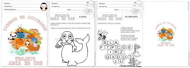Caderno de Atividades Projeto Arca de Noé Vinicius de Moraes