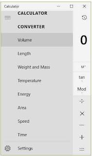 Converter volume length weight and mass