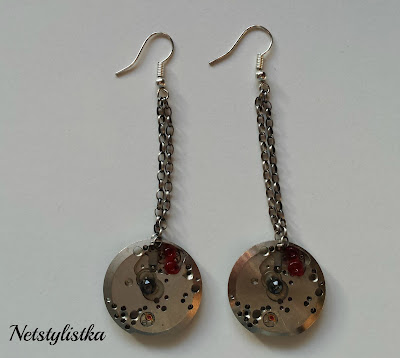 Steampunk earrings - kolczyki steampunk :)