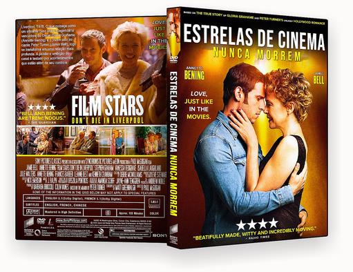 Estrelas de Cinema Nunca Morrem 2018 Dublado – ISO – CAPA DVD