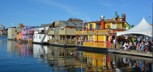 Fishermans Wharf Victoria Island colors