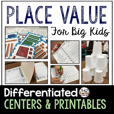 https://www.teacherspayteachers.com/Product/Place-Value-Differentiated-Centers-Activities-2867584