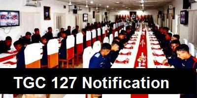 TGC 127 Notification Date