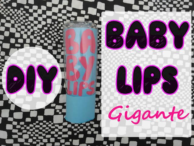 diy baby lips gigante