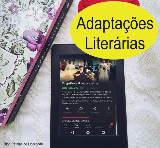 Adaptações Literárias, blogagem-coletiva