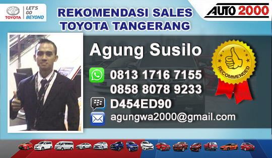 Rekomendasi Sales Toyota Kedaton Tangerang