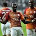 Turquie : Vincent Aboubakar et Aurélien Chedjou se quittent dos à dos lors du derby d'Istanbul