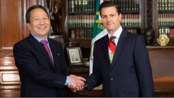 Expulsa gobierno mexicano a embajador de Corea del Norte