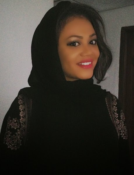 nadia buari gives birth