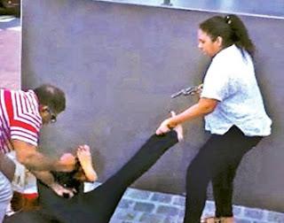"No license for pistol --   ""Chandi leli', mother of 3 children rightalong in remand"