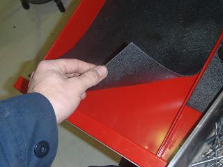 Aviation Maintenance Tool Box Shadowing With Foam