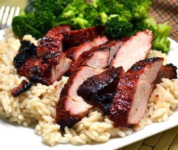 cerdo chino a la parrilla receta