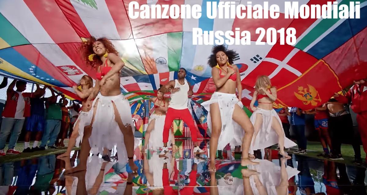 colonna sonora ufficiali mondiali calcio russia 2018