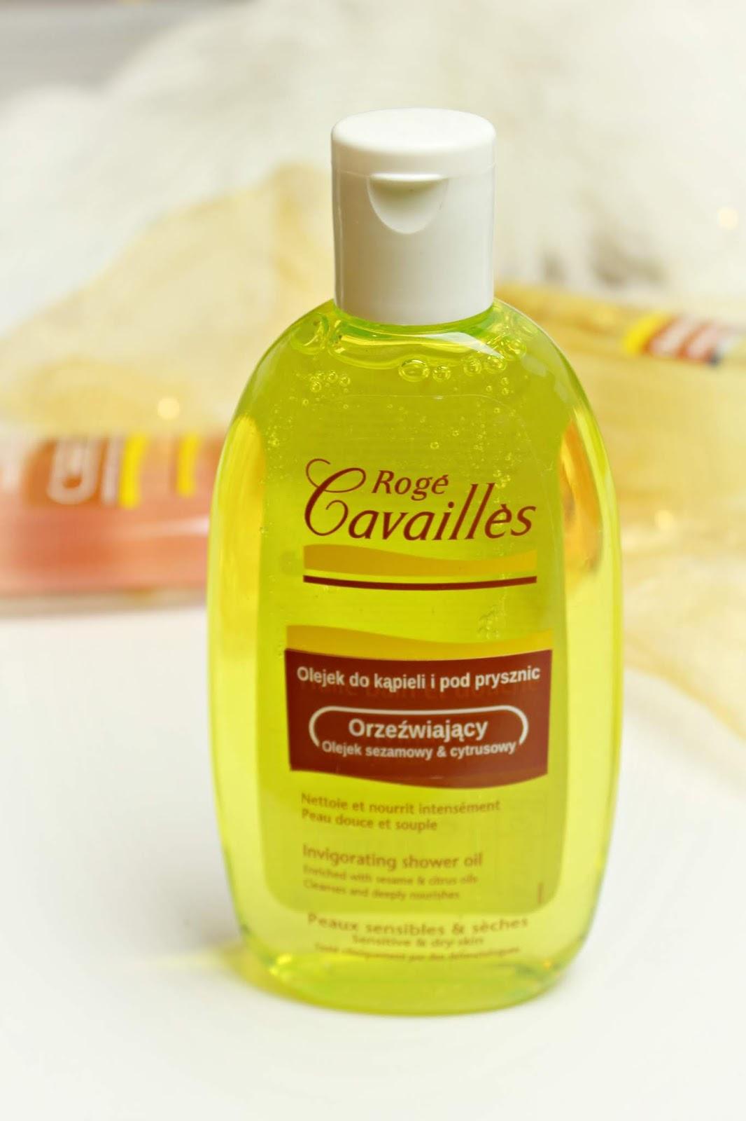 orzeźwiający olejek do kąpieli i pod prysznic roge cavailles