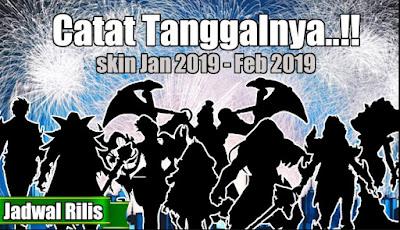 Skin Mobile Legends Rilis Bulan Februari 2019