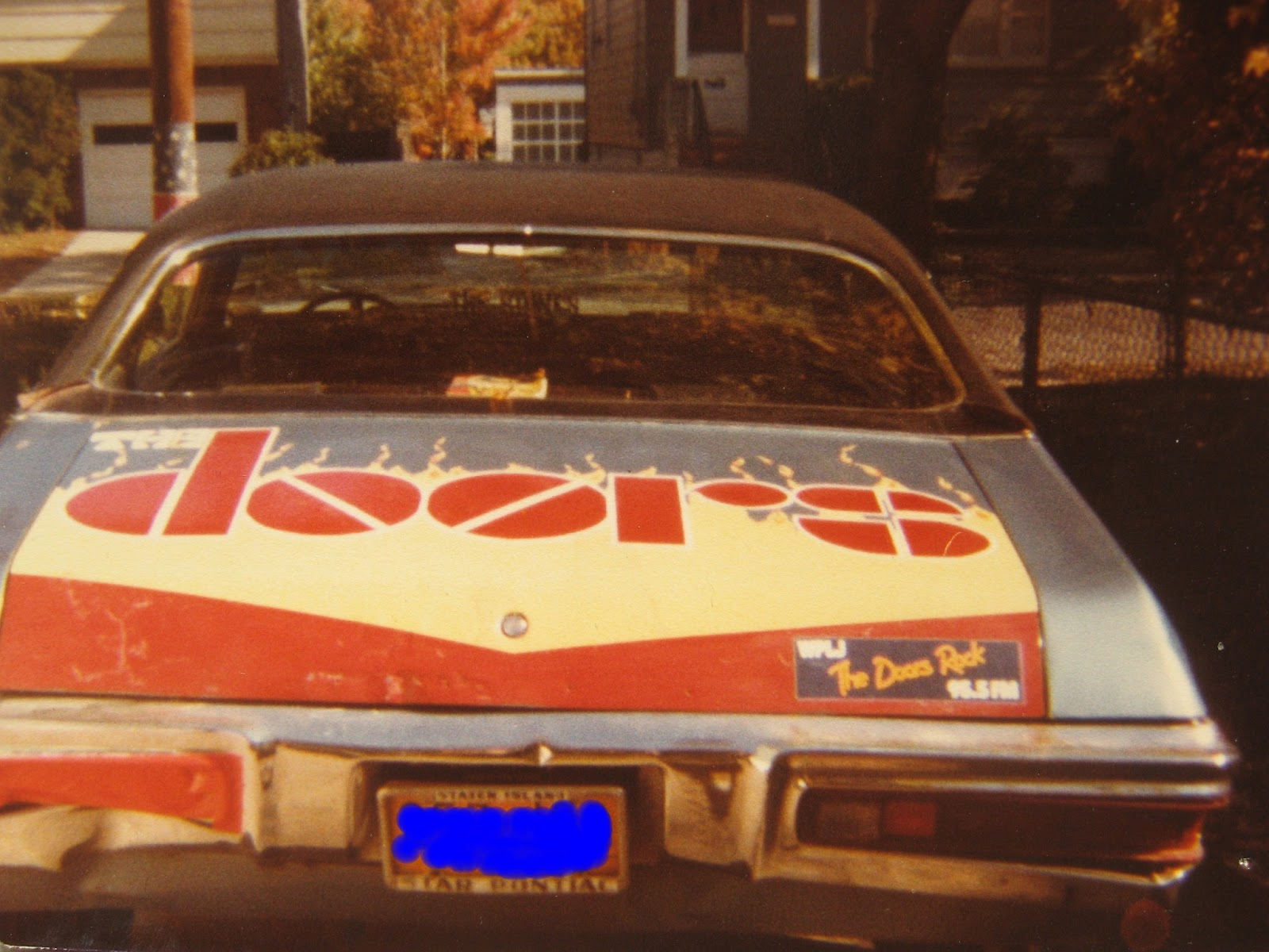 The Doors mobile! Staten Island, New York 1981