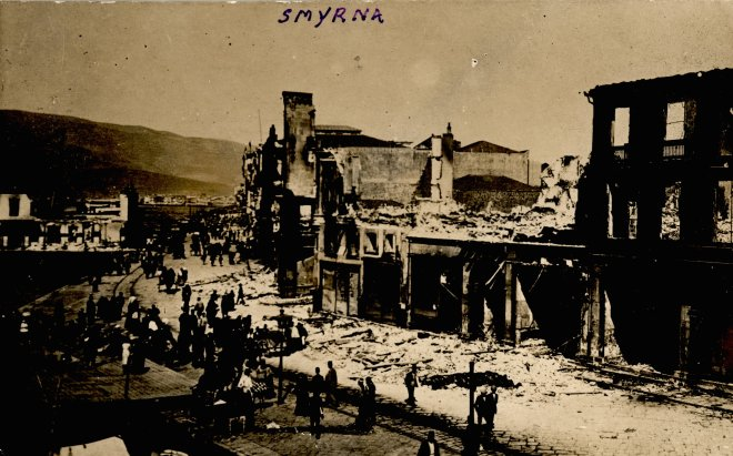 This Is How Smyrna Was Set Up In Flames, Mr. Erdogan