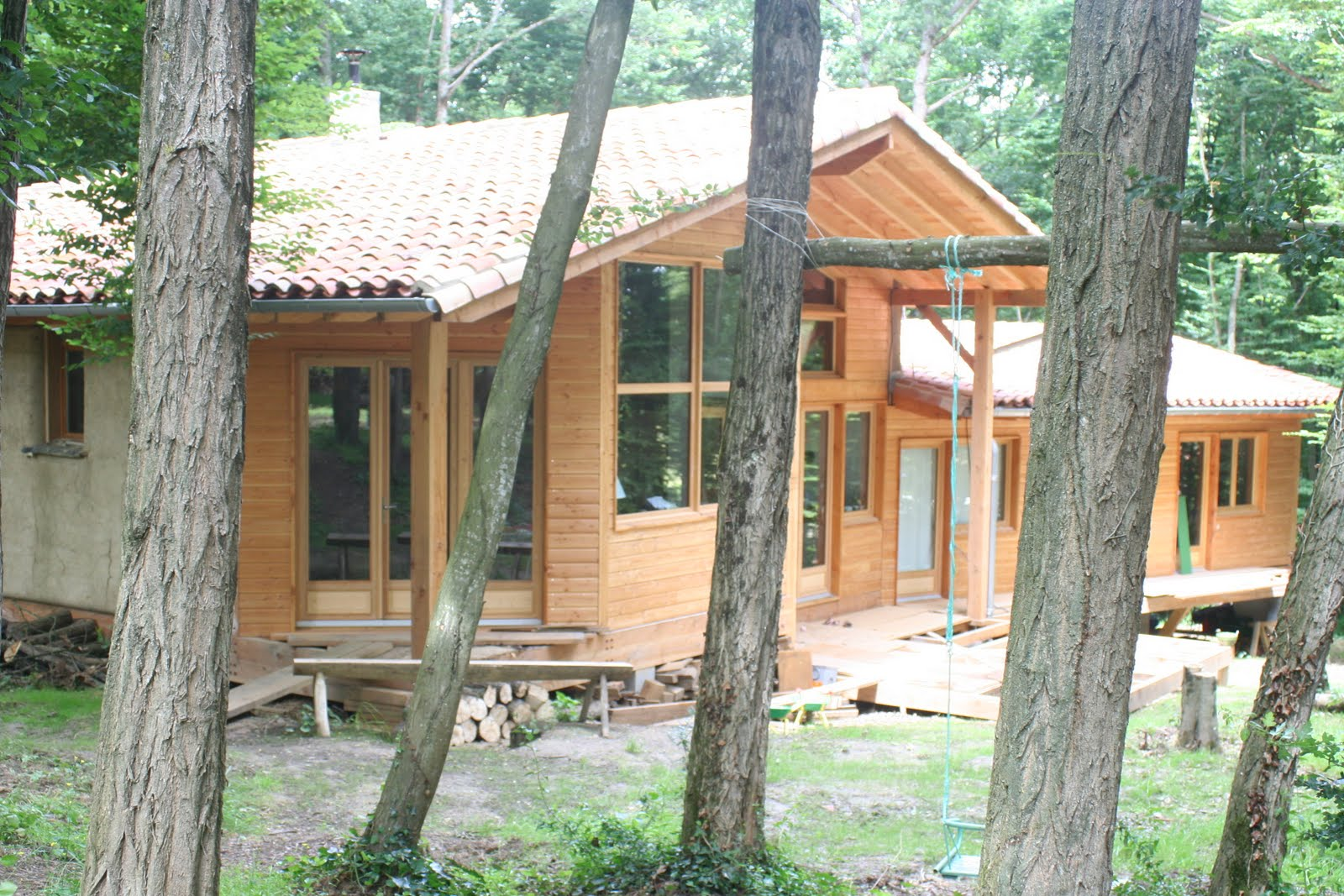 a vendre maison bioclimatique paille terre bois pour amoureux de la nature. Black Bedroom Furniture Sets. Home Design Ideas