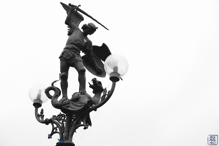 Le Chameau Bleu  - Blog Voyage Gand Belgique - - Sint-Michielsplein - Gent  Balade sur les ponts de Gand en Belgique