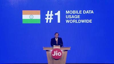 Jio India no.1