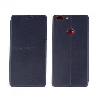 Oferta para OCUBE PU Funda de cuero abatible para Elephone C1 MAX - Deep  Blue más barato feb22e8ddfe2