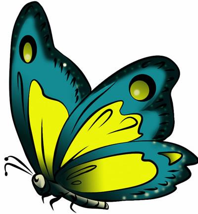 News Butterfly: Butterfly Cartoon Clipart