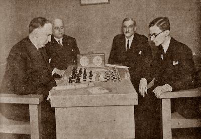 Partidas de ajedrez entre Golmayo y el Dr. Rey en 1944