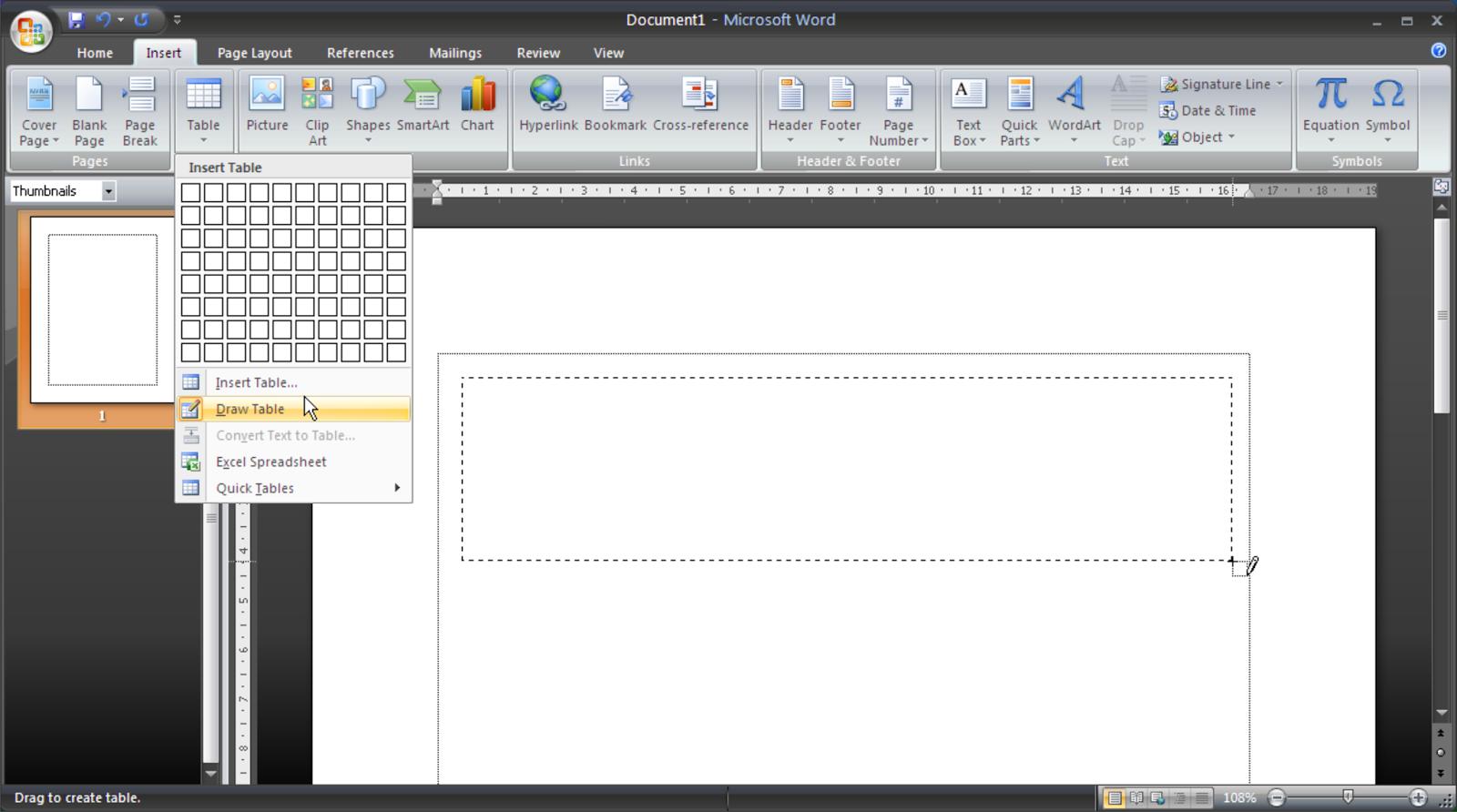 Cara Mudah Membuat Tabel Pada Microsoft Office Word Bag 2