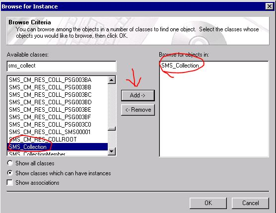 SCCM Issue Tracker: How to delete links collection from sccm ?