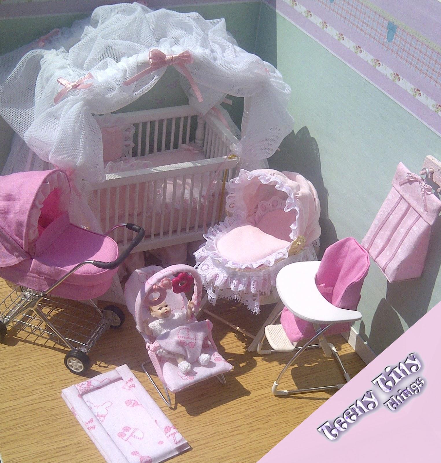 Teeny Tiny Things Pink Nursery Set