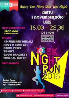 5K Night Run UNS 2016