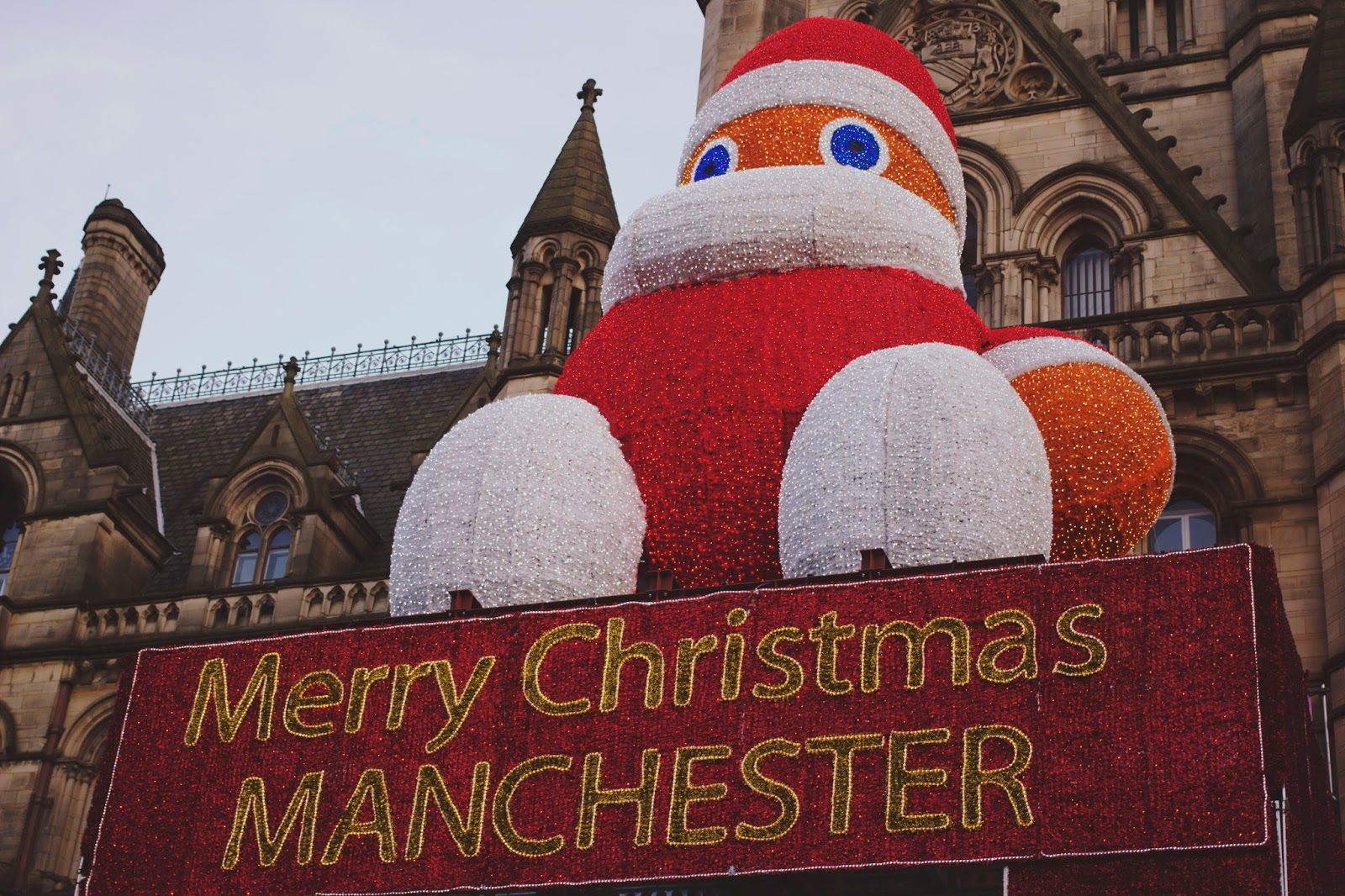 Manchester Christmas Market, Manchester Market, Zippy or Santa Manchester, Katie Writes,