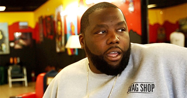 Killer Mike, owner of The Swag Shop