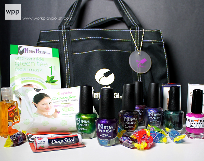 Ninja Polish Cosmoprof North America Bloggers Survival Kit