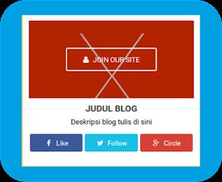 Cara Mudah Memasang Kotak Widget Sosial di Blog Ala Arlina Design