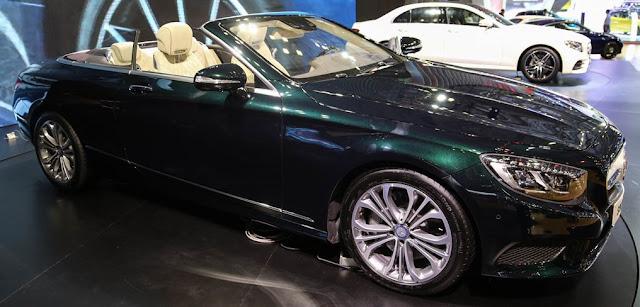 Mercedes S500 Cabriolet thiết kế sang trong, đẳng cấp