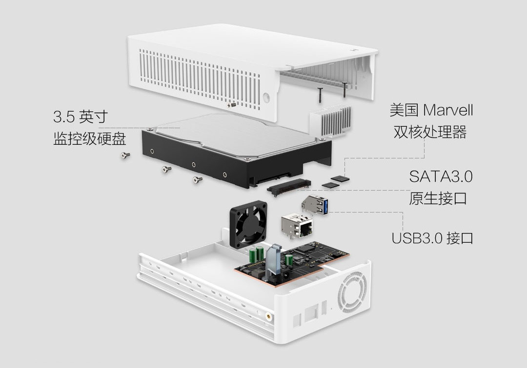 xiaomi xiaobai family cloud disk