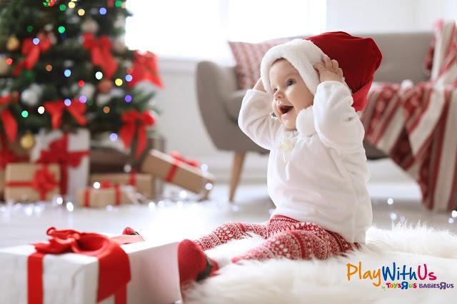 faire un cadeau de noel à un bébé