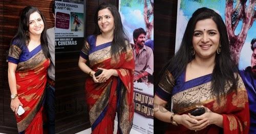 Divyadarshini Red Benaras Saree Saree Blouse Patterns