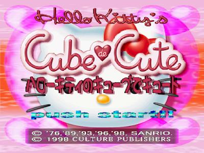 【PS】凱蒂貓:方塊解謎(Hello Kitty:Cube Frenzy),可愛的益智解謎!
