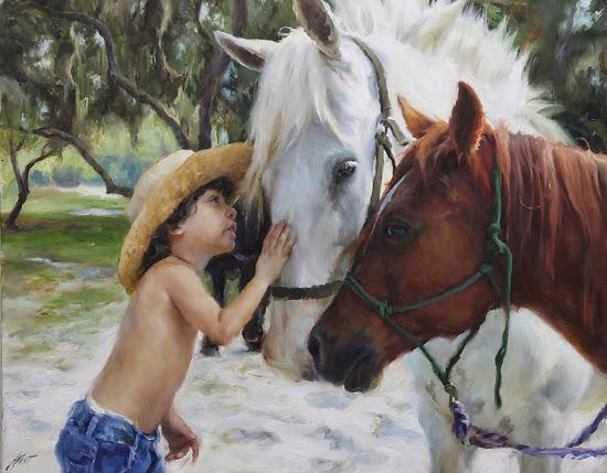 Dominic Avant   Beautiful Figurative Paintings