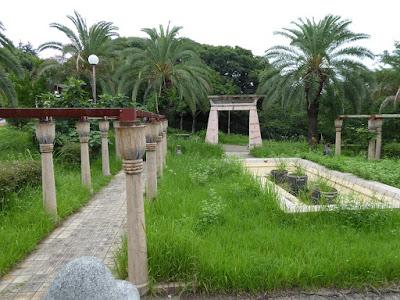 花博記念公園鶴見緑地 エジプトの庭園