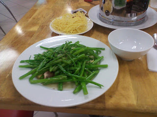 Rau Muong (Rau Muong) or water spinach (water spinach)